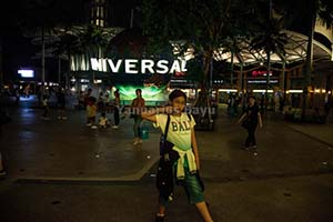 night in universal studios singapore