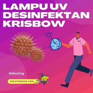 unboxing lampu uv desinfektan