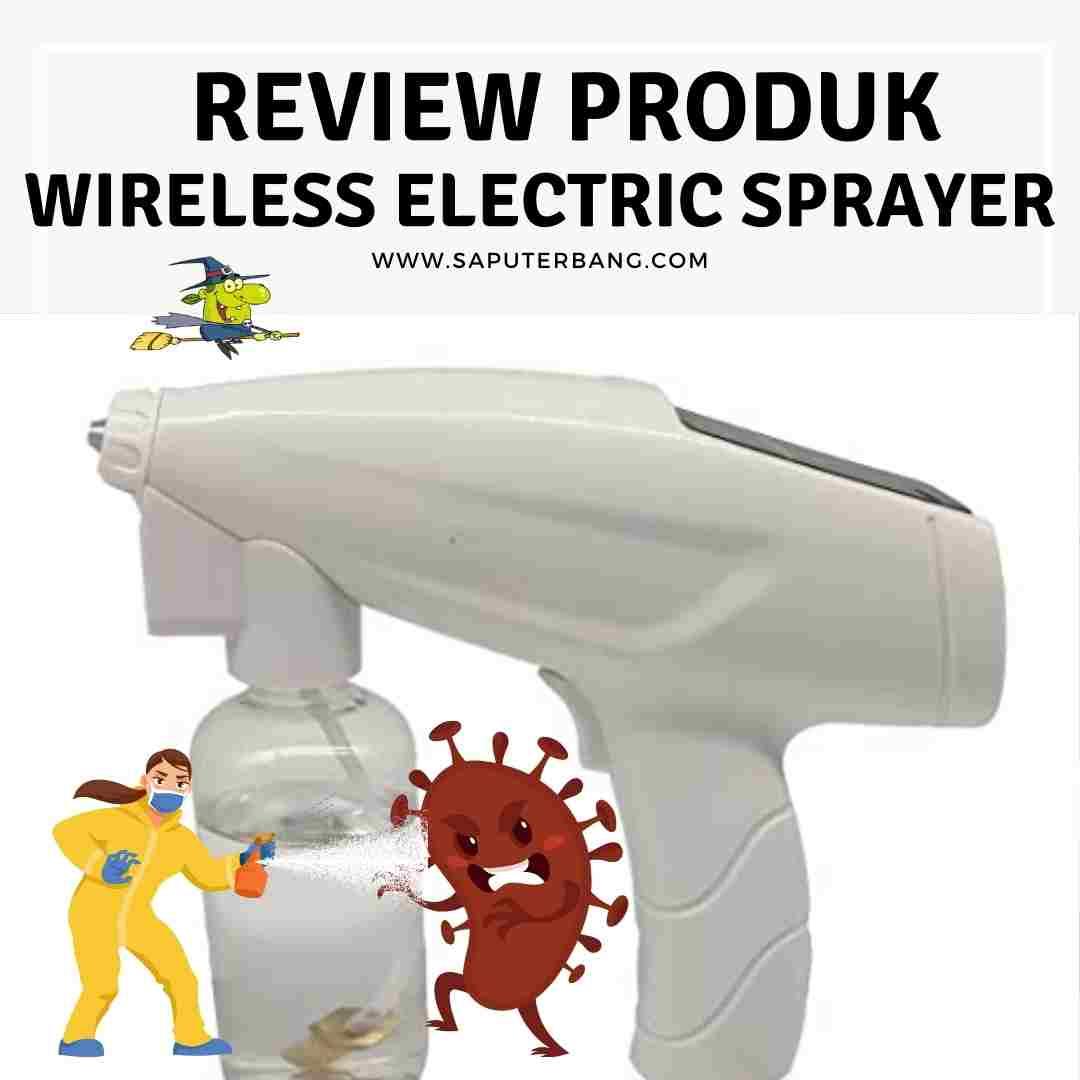 alat semprot sprayer electric
